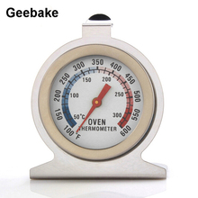 Oven Thermometer Stainless-Steel Metal with Pointer Can-Put Into Celsius/fahrenheit