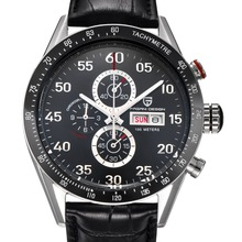 Relogio Masculino 2016 Multifunction Quartz Men Sport Wristwatch Dive 100m Military Watches Men Luxury Brand PAGANI DESIGN