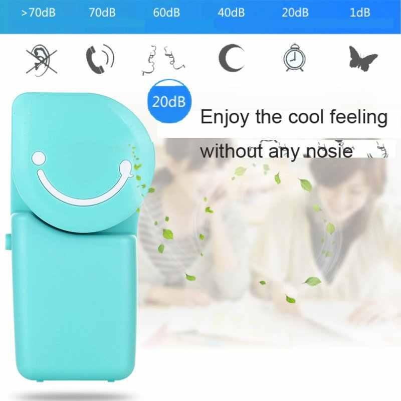 جديد الصيف مصغرة مروحة التبريد المحمولة تكييف الهواء USB تهمة باليد مروحة تبريد USB قابلة للشحن التبريد مروحة يدوية