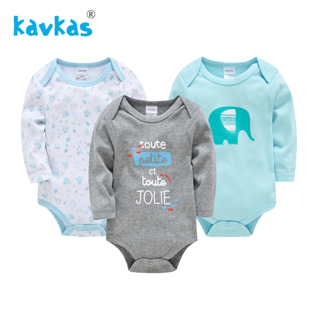 Toddler Baby Boys Rompers One-Pieces 2019 Spring Baby Newborn Cotton Body Long Sleeve Baby Onesie Infant Ropas Bebes Boy Clothes