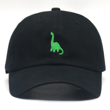dinosaur embroidery dad hat adjustable 100% cotton baseball cap New casual  caps simple golf hats 54a5ce7d0655