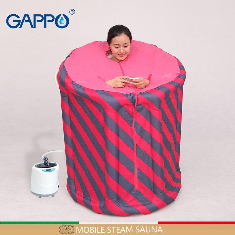 GAPPO Паровая сауна Портативный надувные Крытый Паровая выгодно кожи сауна костюмы для потери веса дома сауны для ванны