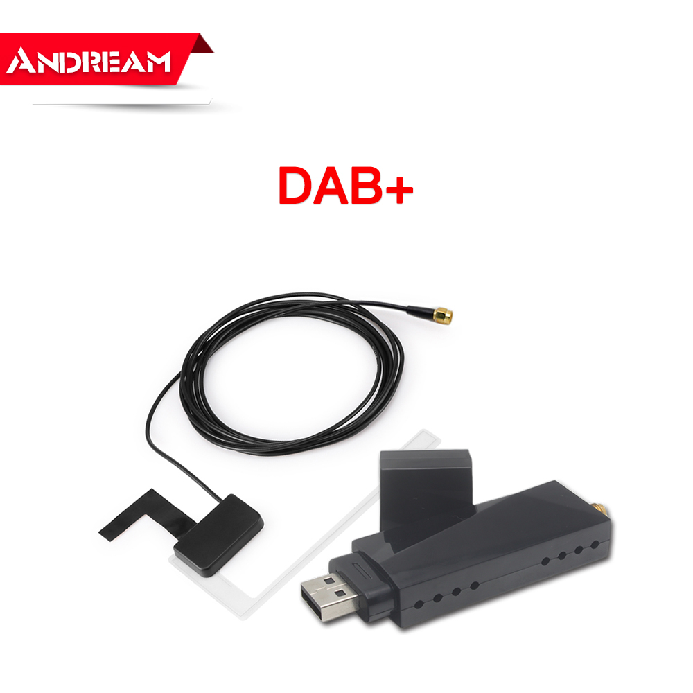 Car DAB+ Tuner/Box for Android Car DVD USB Digital Audio Broadcasting Receiver with Antenna Works for Europe android