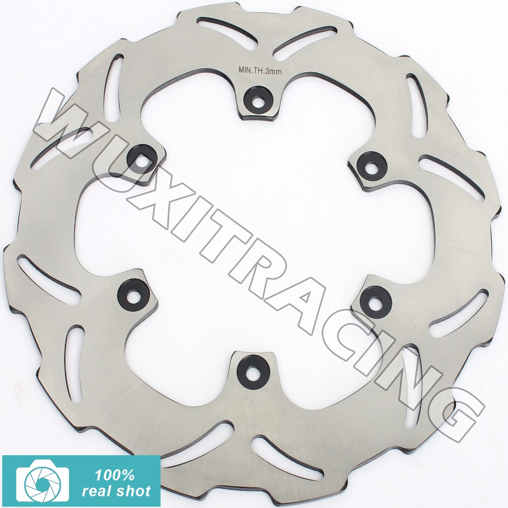 Rear Brake Disc Rotor for YAMAHA WR 125 250 426 450 F 2002-2016 03 04 05 06 07 08 09 10 11 12 13 14 15 YZ 125 250 450 F 02-2017 rear brake disc rotor for yamaha fz1 non abs 06 09 fz6 naked non abs 04 07 fz6 ns naked 05 06 motorcycle