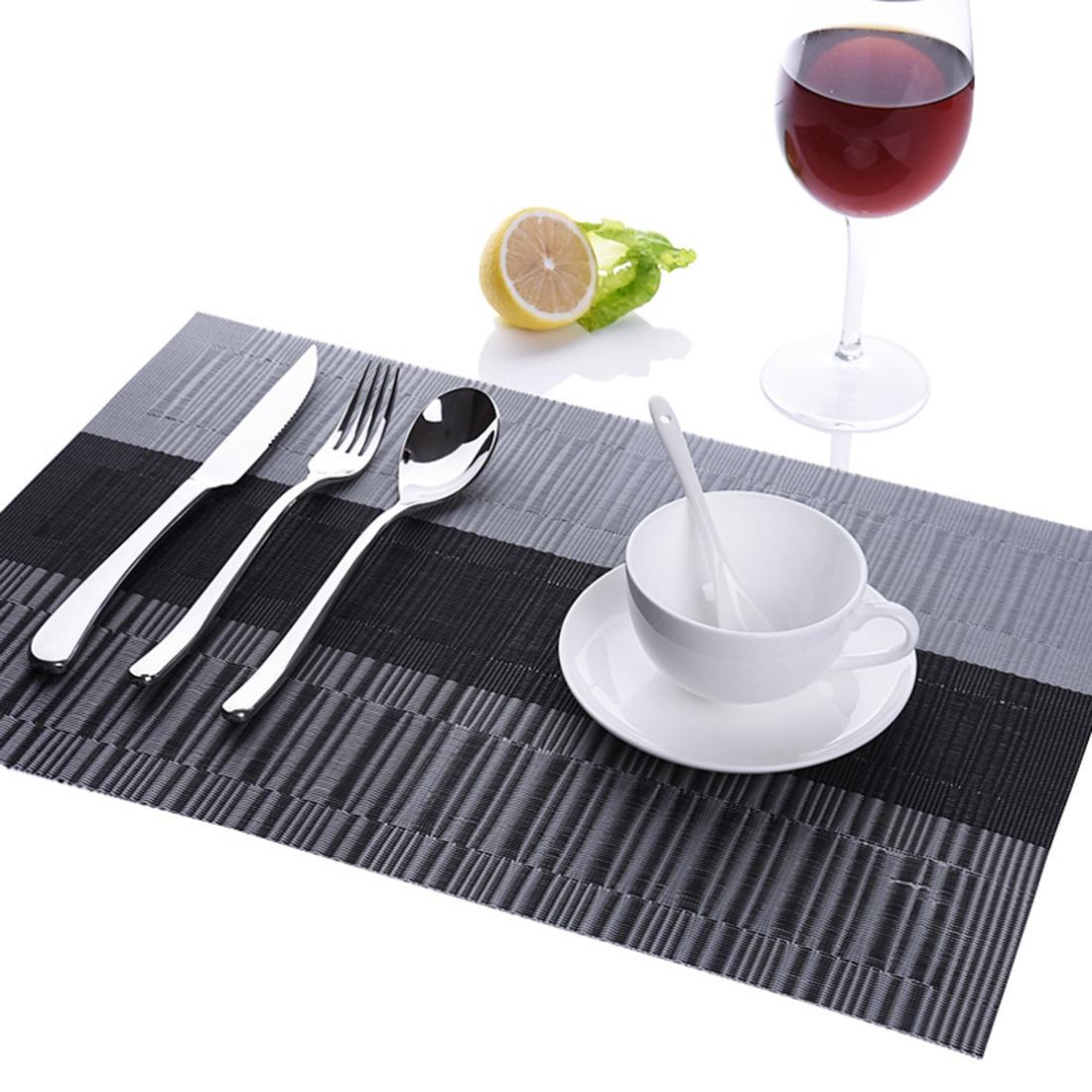 Fashion Pvc Dining Table Mat Disc