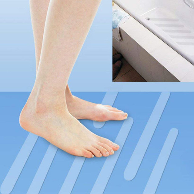 ISHOWTIENDA 2019 12 pz/6 pz Anti Slip Da Bagno Grip Adesivi Antiscivolo Doccia Strisce Pavimenti In Nastro di Sicurezza di Alta qualità Dropshipping