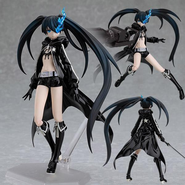 Anime Black Rock Shooter HEIY Figma SP012 PVC Action Figure Collectible Model Toy 15CM anime cartoon detective conan figfix sp 001 figma sp 058 pvc action figure collectible model toy 14cm
