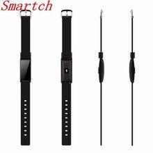 Smartch здоровья смарт-браслет сердечного ритма крови pressur/кислорода часы Фитнес трекер активности браслет Водонепроницаемый smartb