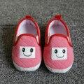 Новый Малыш Новорожденных Детская Обувь Детские Младенческой Дети Мальчик в Девочке Мягкой Подошвой Хлопок Дышащая Тапки Квартиры Первые Обувь Для Ходьбы