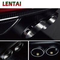 LENTAI Motorsport M performance Carbon Fiber Car Exhaust Pipe For BMW 1 2 3 4 5 6 7 Series F30 F20 E81 E87 E90 E36 Accessories