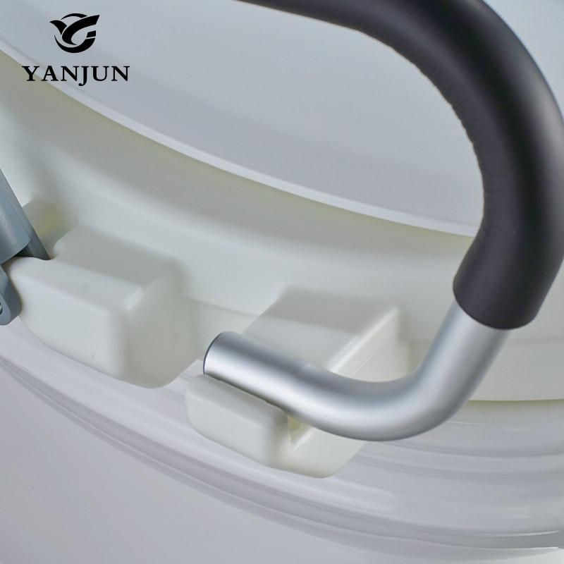 Astonishing Yanjun Portable Raised Toilet Seat With Padded Handles Creativecarmelina Interior Chair Design Creativecarmelinacom