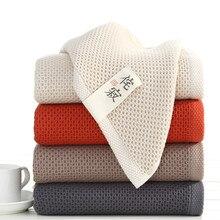 цена 70x140cm Elegant Absorbent 100% Cotton Bathroom Solid Bath Towels Soft Comfortable Towel For Adult
