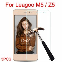 3 шт. закаленное Стекло 2.5D Накладка для leagoo Z5 M5 Стекло Экран протектор Защитная Плёнки случае 5.0 дюймов на м 5 Z 5