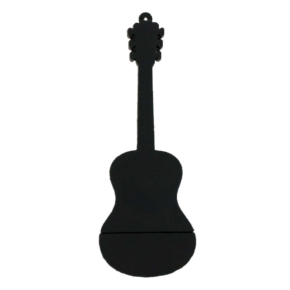 Kartun Flashdisk 128GB USB Stick Gitar Alat Musik Gitar Model Flashdisk 4GB 8 Gb 16GB 32GB 64GB USB Flash Drive 6 Warna
