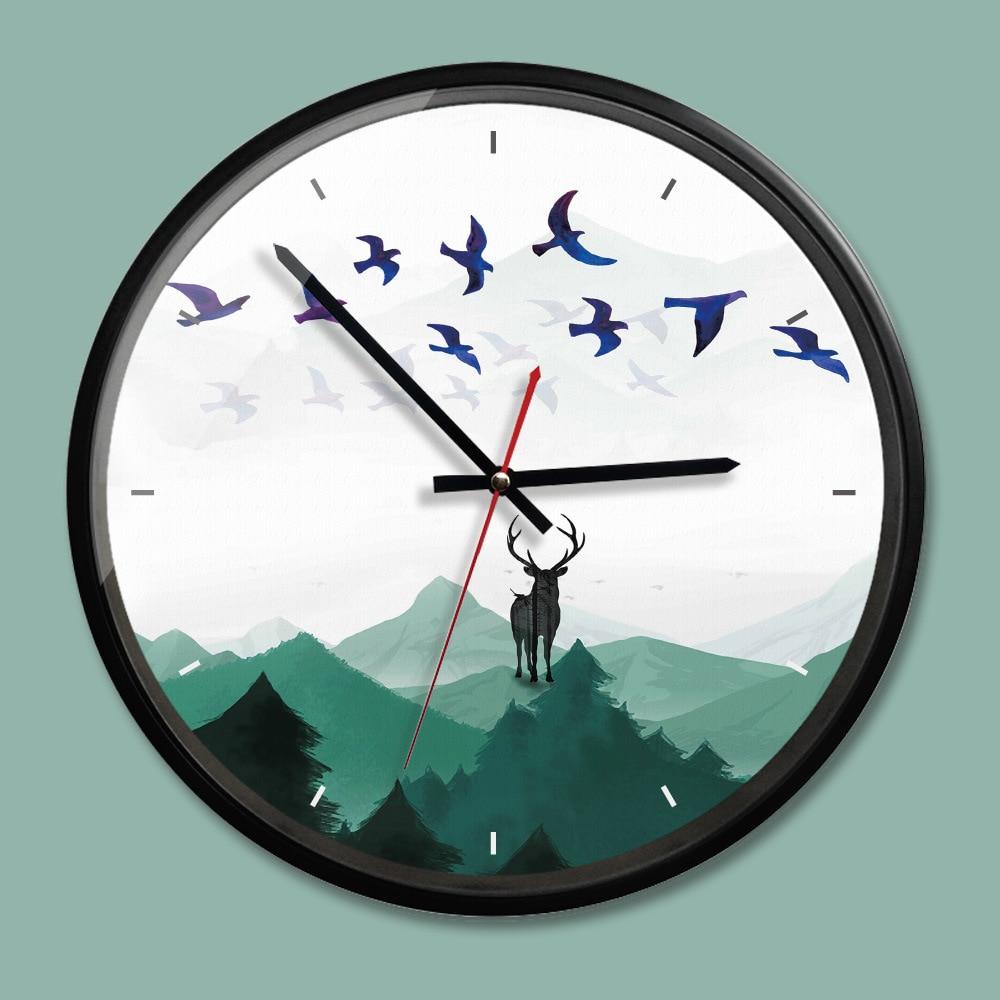 Acrylic Wall Clocks New Stylish Living Room Creative Wall Clock Nordic Style Decorative Watches Modern Design