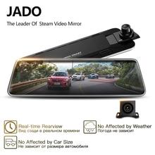 JADO D230 поток зеркало заднего вида Dvr регистраторы era avtoregistrator 10 ips сенсорный экран Full HD 1080 P Автомобильный Dvr регистраторы