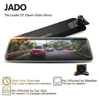 JADO D230 Pro Stream RearView Mirror Dvr dash Camera avtoregistrator 10 IPS Touch Screen Full HD 1080P Car Dvr dash cam