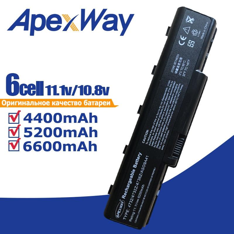 11.1V Baterai untuk Acer Aspire 5516 5517 5532 5732z 4930 eMachines E725 E525 AS09A31. AS09A41.
