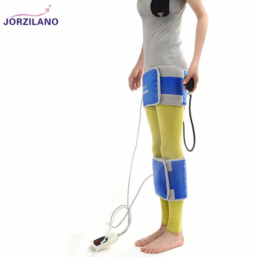 JORZILANO Far IR Inflatable Leg Correction Belts O&X Form Legs Straightening Instrument Bandage Bowlegs Corrector Brace Heating free size o x form legs posture corrector belt braces