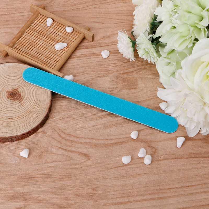 Tampon de ponçage mince Pro Nail Art pour outil de polissage de Gel UV manucure de Salon