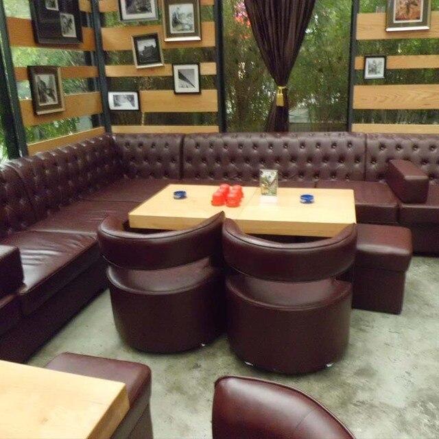 Customized Resturant Modern Design Sofa For Bar Night Club