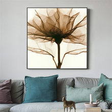 Abstract Oil Painting on Canvas Flowers Wall Pictures For Living Room Decoration Home Decor Posters and Prints Wall Art Quadro(China)