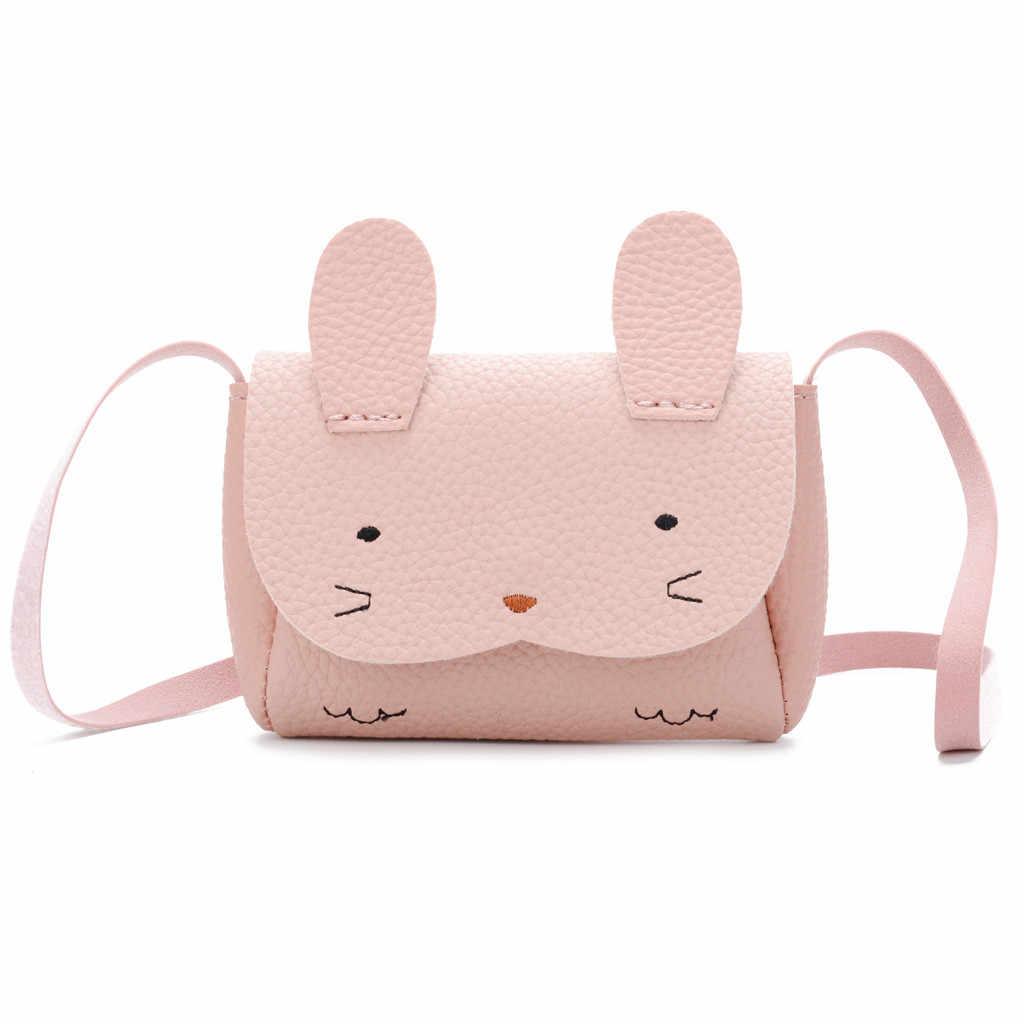 Crianças Lovely Fashion Asas Dos Desenhos Animados do jardim de Infância Mochila Pequena BackpackBags Rabit Mini Cor Sólida bolsas de mujer