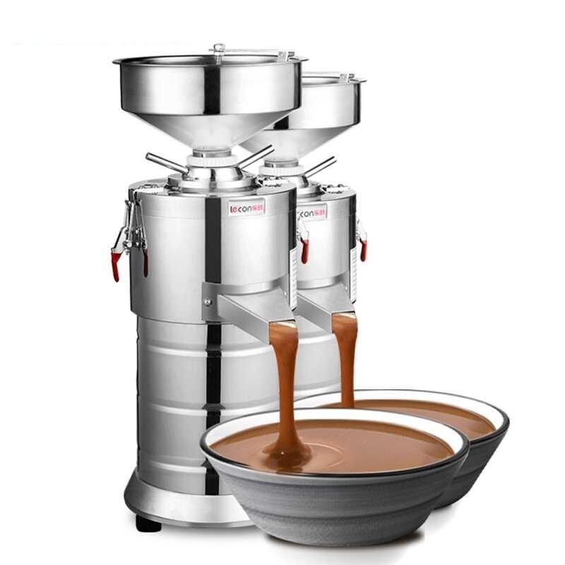 220V Commercial Electric Peanut Paste Grinder Machine Automatic Seasame Peanut Nut Paste Butter Grinding Machine EU/AU/UK/US