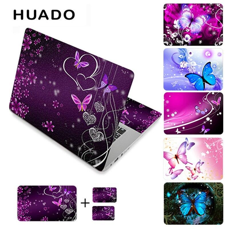 Schmetterling vinyl aufkleber laptop haut aufkleber 11,6
