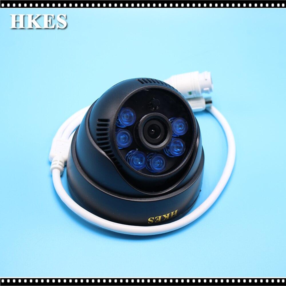 HKES Wholesale 16pcs/lot Mini HD IP Camera Audio 720P IR-Cut Night Vision Surveillance Onvif Network CCTV Security Camera 1MP