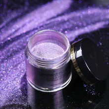 Natural Dry Mirror Effect Glitter Nail
