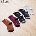 Новое Поступление Печатных дождь хлопок мужчины happy socks цвет марка дизайнер повседневная новинка платье высокого качества 5 париж/много