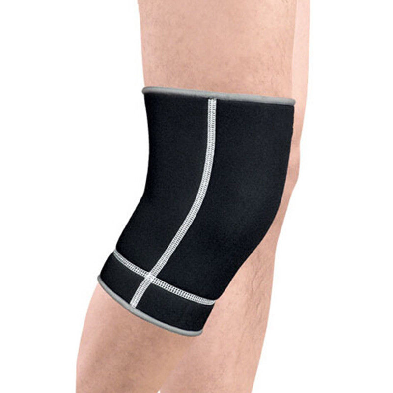 1PC SBR Knee Sleeve Support Brace Sports Leg Patella Compression Wrap Protector