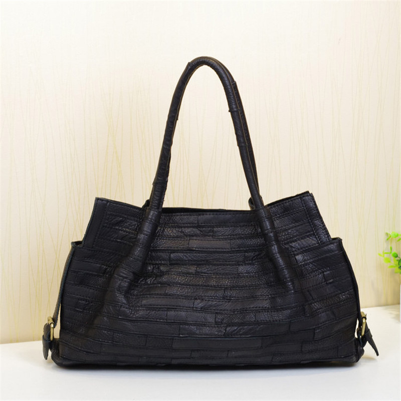 Caerlif Gift for mom Women Handbags Shoulder Crossbody Bags Genuine Leather Bag Bolsas ladies tote bag colorful Shoulder  bags