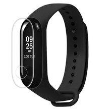 купить 2Pcs Screen Protector Film For Xiaomi Mi Band 3 Smart Wristband Bracelet Full Cover Protective Films Not Tempered Glass mi band3 по цене 50.82 рублей
