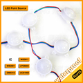 500pcs 360 degree led ball string light WS2811 led point light d45mm 6leds/ball 20pcs/string DC12V waterproof led modules