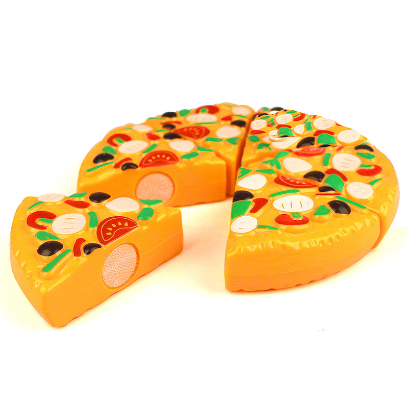 kitchen toy kidus safty plastic cutting pizza toy kitchen simulation toys juguetes cocina pretend play