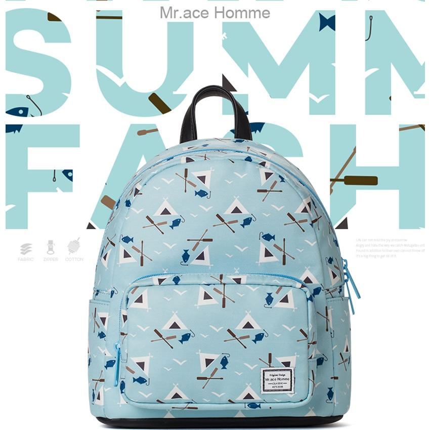 printing backpack women travel bags small backpack laptop bags waterproof girl school back pack kids shopping bag