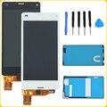 """4.3 """"Черный Белый Для Sony Xperia Z3 Mini Compact D5803 D5833 ЖК-Дисплей С Сенсорным Экраном Дигитайзер Ассамблеи + Клеи + Инструменты Для Ремонта"""