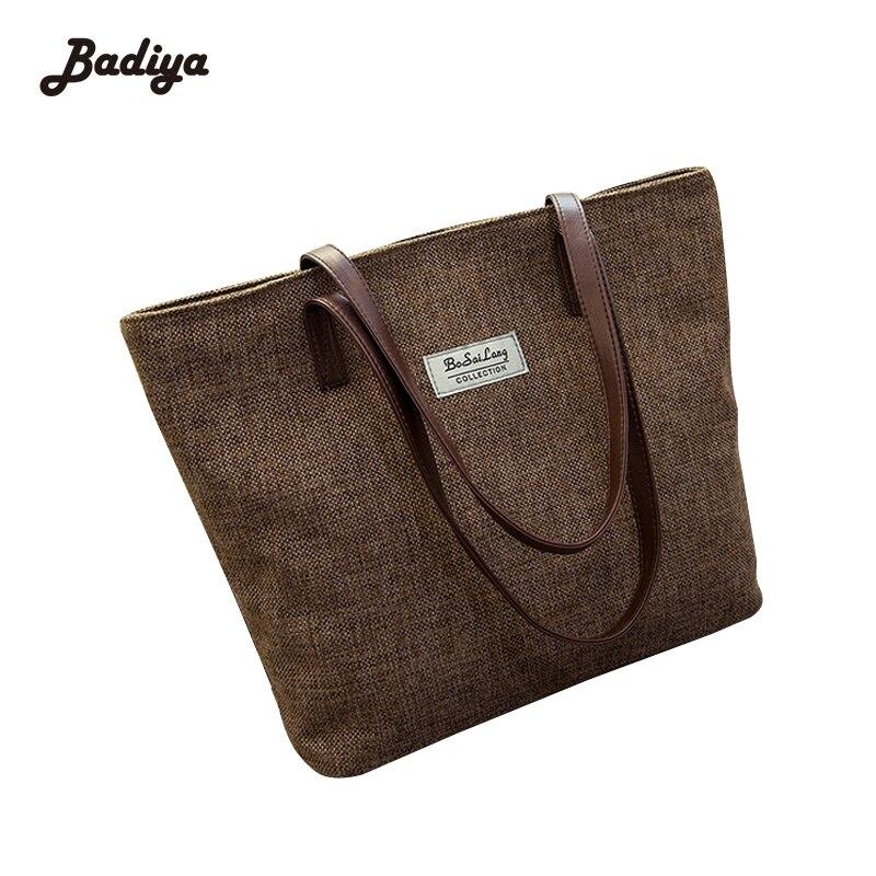 Vintage Hot Designer Canvas Ladies Canvas Tote Women Shopping Famous Brand Shoulder Bag Handbags High Quality Bag Bolsa Feminina