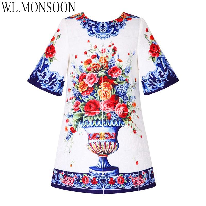 W. l. monsoon/для маленьких девочек Платья для женщин детская одежда с коротким рукавом Фирменное платье принцессы Обувь для девочек костюм цвет...