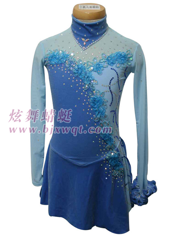 Customized Children's Adult Figure Skating Dress