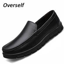 モカシンメンズドレスイタリア革の靴ローファー本革フォーマルな靴ドレスプラットフォームビッグサイズ 38- 46