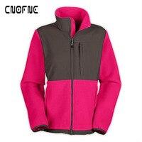 Outdoor windproof warm WOMEN HOODIES Stitching sweatshirt WOMAN'S Hooded moletom hoodie clothes sudadera mujer WOMEN COAT pink