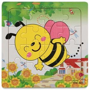 1Pcs Cartoon Bee/Giraffe Woode