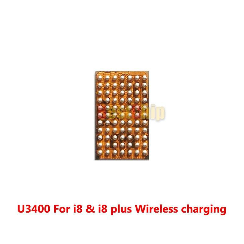 3 шт./лот U3400 для iphone 8 8 плюс 8 плюс Беспроводной зарядки Зарядное устройство микросхема