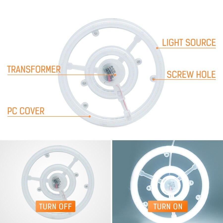 Led Ceiling Lamp Circular Tube Ac220v 12w E27 Lights Ring Lamp Steering Wheel Led White Light Indoor Ufo Ceiling Light Be Novel In Design Ceiling Lights Ceiling Lights & Fans
