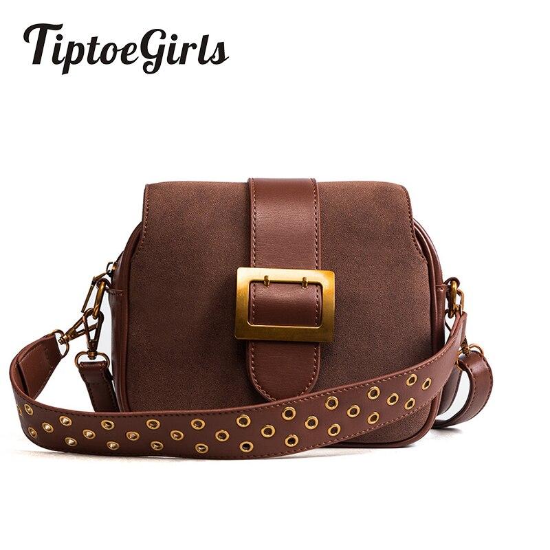 Autumn and Winter New Korean Fashion Trend Matte Splicing Handbag Wild Wide Shoulder Strap Shoulder Messenger Messenger Bag