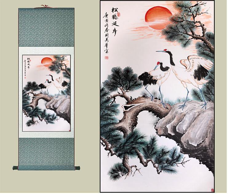 Hotsale gratis frakt Traditionell kinesisk konstmålning Hem Office - Heminredning - Foto 1