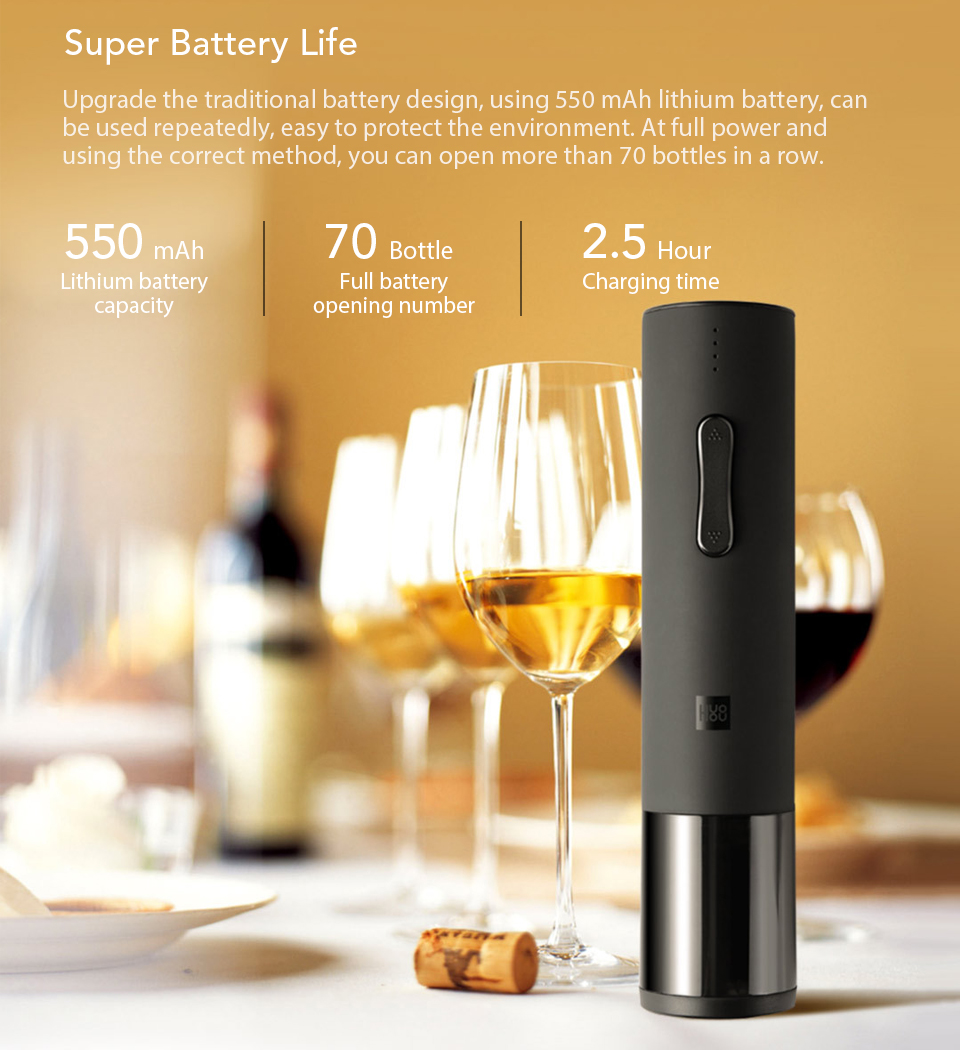 Xiaomi Wine Electric Bottle Smart Gadget 12